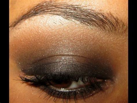 dramatic black smoky eye  brown eyes makeup tutorial youtube