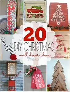 Diy christmas wall decor ideas the village