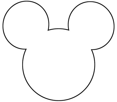 Mickey Mouse Template Best 25 Mickey Mouse Template Ideas On Mickey