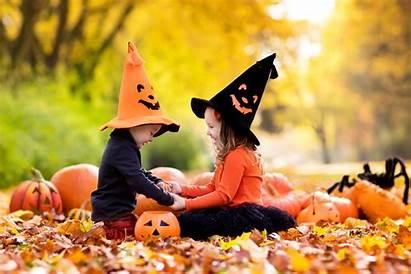Halloween Wallpapers Pumpkin Children Ultra 4k Autumn