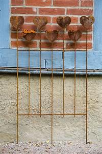 Rankgitter Metall Rost : rankgitter metall heart rost ~ Watch28wear.com Haus und Dekorationen