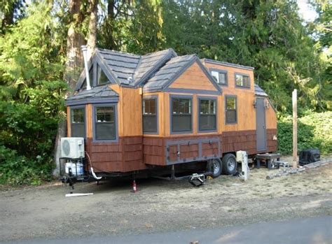 Lightweight Tiny House on Wheels with Two HUGE Slide Outs!
