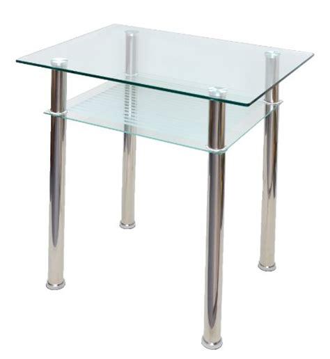 table en verre console ordinateur table d appoint 80 x 60 cm verre tremp 233 10 mm 233 paisseur
