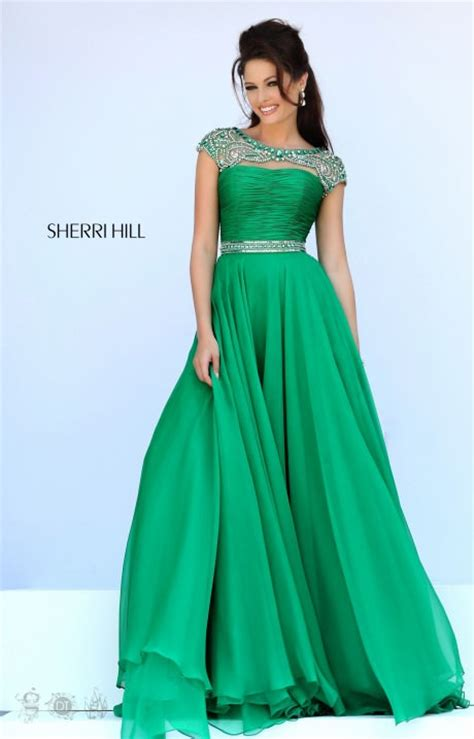 sherri hill  formal dress gown