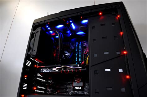 Sirin Custom Gaming Pc In Nzxt Noctis 450