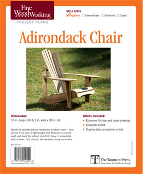 woodwork adirondack chair plans fine woodworking  plans