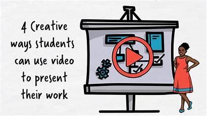 Ways Present Creative Students