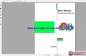 Iveco Daily Vehicle Range Bodybuilders Instructions