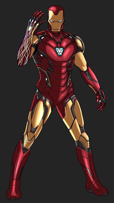 iron man snap animated art iphone wallpaper iphone