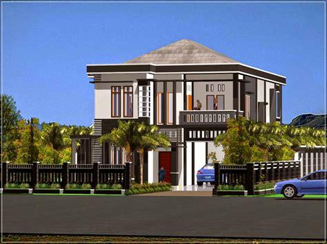konsep desain rumah mewah minimalis modern
