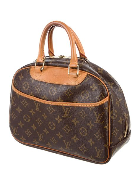 louis vuitton monogram trouville bag handbags lou  realreal