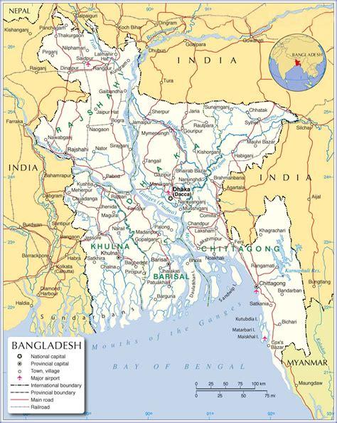 bangladesh map  country map  details shopnobaz