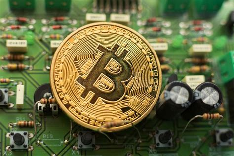 Think of it as a donation to everyone. satoshi nakamoto. Bitcoin Coin On Circuit Board Stock Image - Image of ...