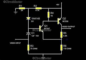 Video Amplifier Circuit For Camera