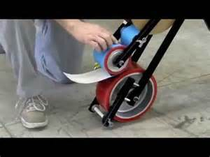 mighty line floor tape applicator youtube