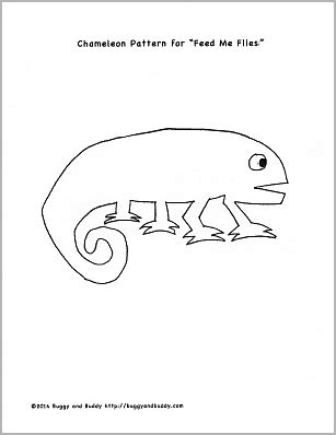 chameleon template motor and math for the mixed up chameleon by eric carle buggy and buddy