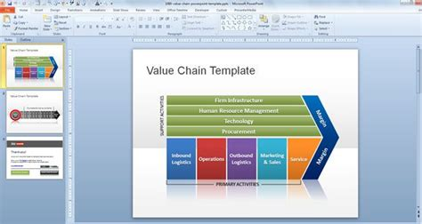 Free Value Chain  Ee  Powerpoint Ee    Ee  Template Ee   Free  Ee  Powerpoint Ee