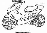 Scooter Coloring Pages Drawing Getdrawings sketch template