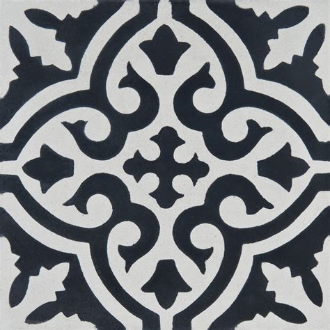 Moroccan cement tile   Zoco home