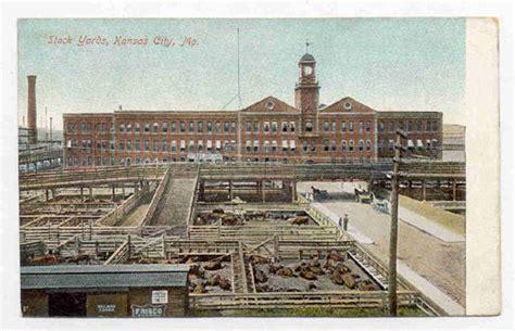 kansas city mo stock yards old unused postcard pc2069 ebay