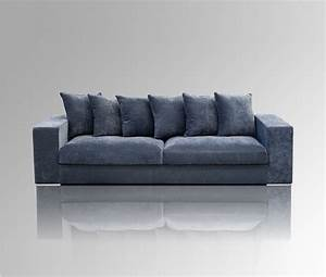 Samt Sofa Blau : samt sofa 4 sitzer blau ~ Sanjose-hotels-ca.com Haus und Dekorationen