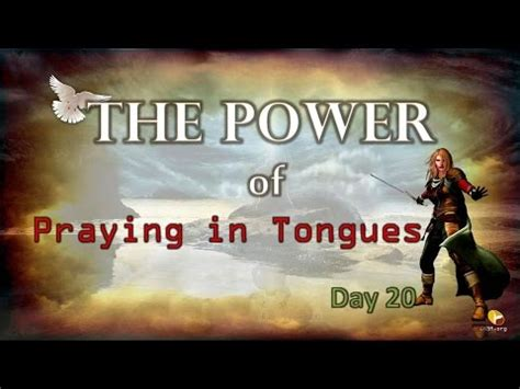 Prayer Warriors 365day 20  Power Of Praying In Tongues