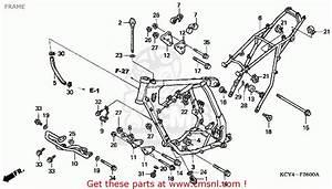 Honda Xr400r 1999  X  Usa Frame