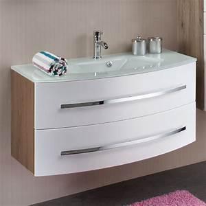 Badmöbel Set Mit Glaswaschtisch : glaswaschtische mit unterschrank ~ Bigdaddyawards.com Haus und Dekorationen