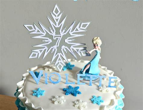 deco gateau reine des neiges gateau elsa reine des neiges frozen cake
