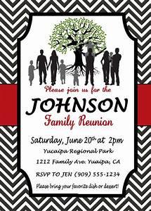 Family Reunion Invitation by InvitesbyLL on Etsy ...