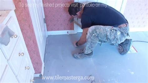 "Part ""2"" How to install Tile Backer Board on wooden"