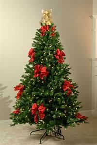 Schleifen Für Weihnachtsbaum : christbaum schmuck glanzvolle ideen mit auff lligen details ~ Whattoseeinmadrid.com Haus und Dekorationen