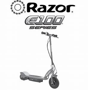 Razor Power Core E100 Electric Scooter Red