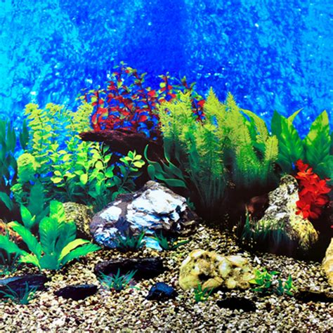 aquarium decor de fond non self adhesive height 30 50 60cm aquarium accessories background stickers fish tank