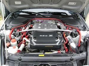 Carbon Fiber Engine Cover With Chrome 350z - My350z Com