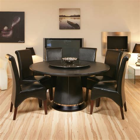 oak dining table lazy susan black oak 6 high
