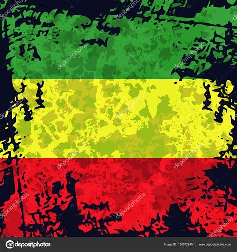 rasta flag colors green yellow rasta flag rastafarianism grunge