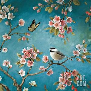 Blossom II Art Poster Print by Lisa Audit, 12x12