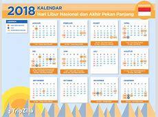 Kalender Libur Nasional dan 13 Long Weekend di Indonesia 2018