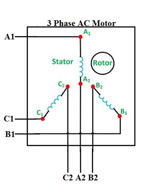 how to connect 3 phase motors in and delta connection quora