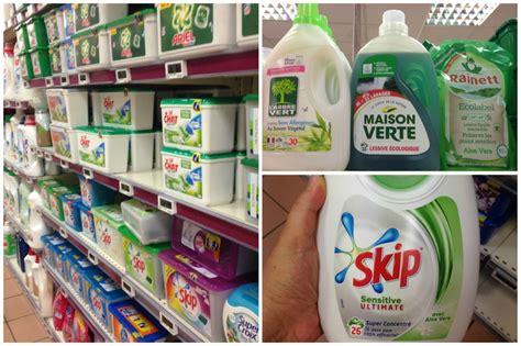 produits clean un petit tour du côté des lessives