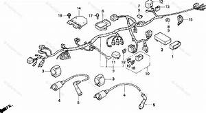 Honda Motorcycle 1999 Oem Parts Diagram For Wire Harness