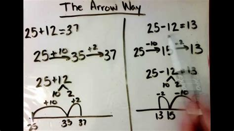 arrow  subtraction youtube