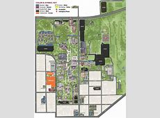 Denton Parking Map Texas Woman's University
