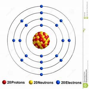 Bohr Diagram Of Calcium
