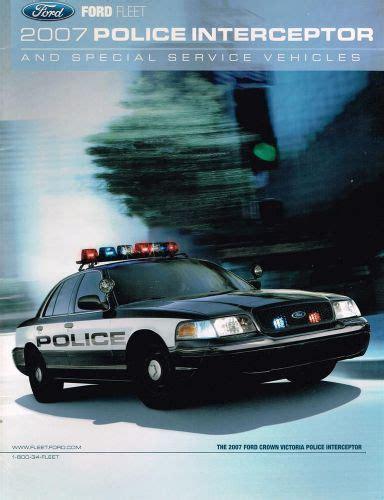 purchase  ford police interceptor fleet brochure crown
