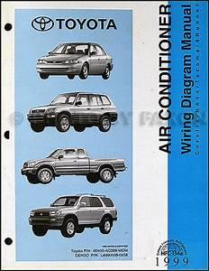 1999 Toyota A  C Wiring Diagram Manual Original Corolla