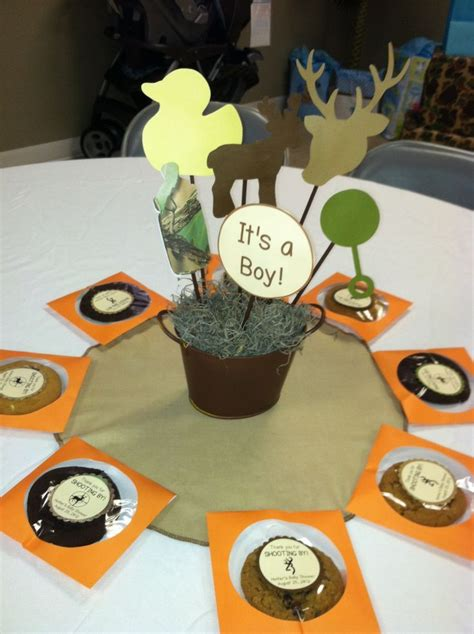 buck baby shower theme images  pinterest baby