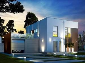 Cube Haus Bauen : modernes cube haus mit dachterrasse von dan wood h user ~ Sanjose-hotels-ca.com Haus und Dekorationen