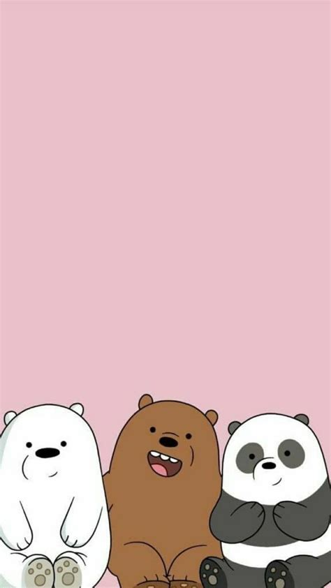 aesthetic  bare bears wallpapers wallpaper cave